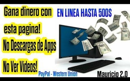 Ganar Dinero En Linea Fácilmente | Sin Apps Ni Encuestas | Android