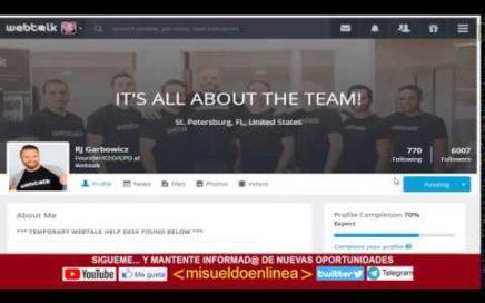 Ganar Dinero Rapido[Ganar Dinero Rapido] webtalk red social que paga.