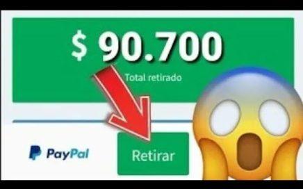GANE 15$ DIARIOS CON ESTA APLICACIÓN  -PAYPAL