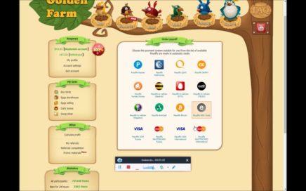 golden farm: Pagina para jugar y ganar dinero real solo con dedicarte unos minutos diarios