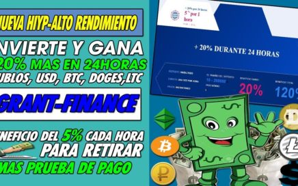 GRANT-FINANCE NUEVA| I( LOS PAGOS ESTAN SUSPENDIDOS NO INVERTIR)