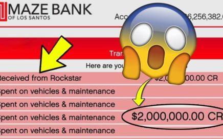 (GTA 5) COMO TENER 2 MILLONES DE DOLARES EN GTA ONLINE GRATIS! *ROCKSTAR OFICIAL*
