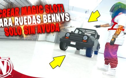 GTA 5 Online - CREAR MAGIC SLOT! PARA CAMBIAR RUEDAS BENNYS! GTA V PLAZA MAGICA! (MUY FACIL)
