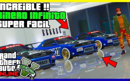 "INCREIBLE!! GANA $1.000.000 SUPER FACIL EN ""GTA V ONLINE"" [ PS4 - XBOX ONE - PC ] 1.45"