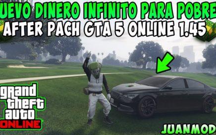 *INCREÍBLE* NUEVO TRUCO DE DINERO INFINITO PARA POBRES DINERO FÁCIL GTA 5 ONLINE 1.45