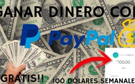 La MEJOR Manera de GANAR DINERO por Paypal GRATIS |  DINERO POR INTERNET |  OCTUBRE-2018 |
