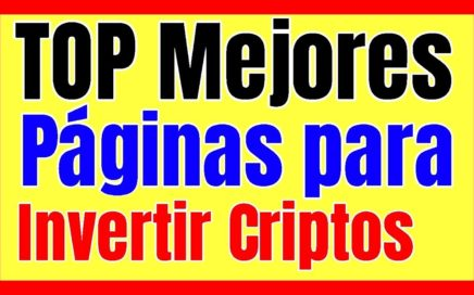MEJORES PAGINAS PARA MINAR CRIPTOMONEDAS y Ganar Dinero Online Mi Portafolio De Inversion
