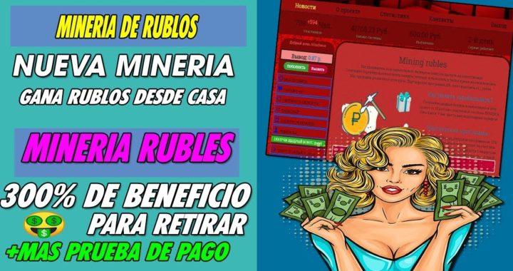 MINING RUBLES  | GANA RUBLOS MINANDO FACIL Y RAPIDO DESDE CASA