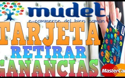 Mudet Tarjeta Mastercard Para RETIRAR GANANCIAS Como GANAR DINERO por INTERNET