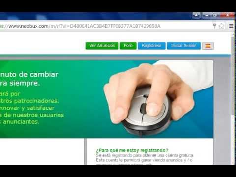 Neobux Gana dinero solo por ver anuncios  mejor que forex o binarias