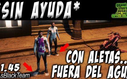 | NEW - NUEVO | - SOLO - SIN AYUDA - GTA V - | CON ALETAS y FUERA DEL AGUA | - (PS4 - XBOX One - PC)