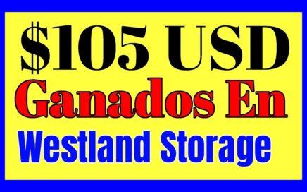 OTRO RETIRO DE $105 USD DE WESTLAND STORAGE pagina para ganar dinero minando criptomonedas
