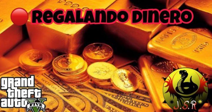 Regalando dinero Probando Trucos GTA 5 PS4