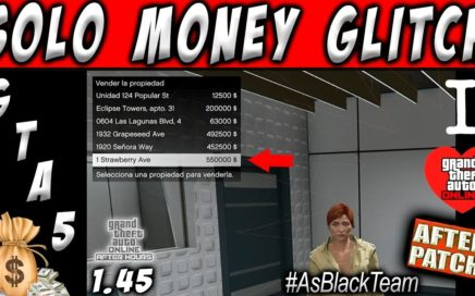 *SOLO MONEY GLITCH* - | AFTER PATCH | - GTA V - SIN AYUDA - GANAR $1.500.000$ SIN DUPLICAR