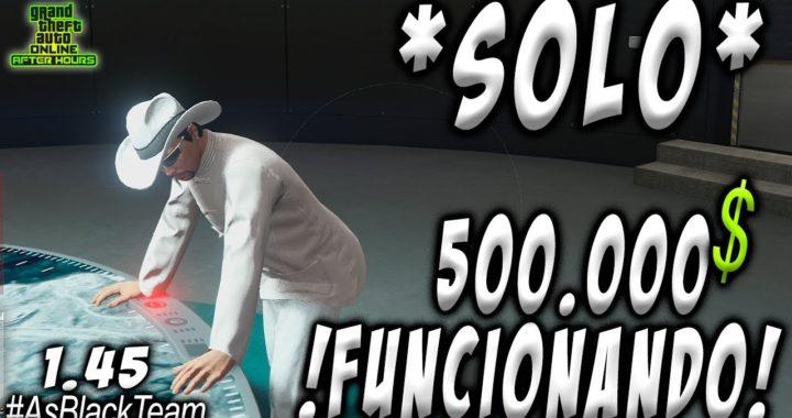 """  SOLO MONEY GLITCH   - """"FUNCIONANDO"""" - 500 o 750.000$ SUPER FÁCIL - GTA V -   EL MEJOR TRUCO  """