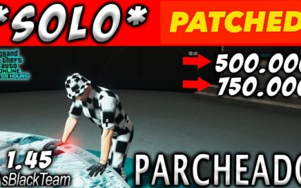 | SOLO MONEY GLITCH | - GANAR FÁCIL 500 o 750.000$ - GTA V 1.45 - | TRUCO PARCHEADO |