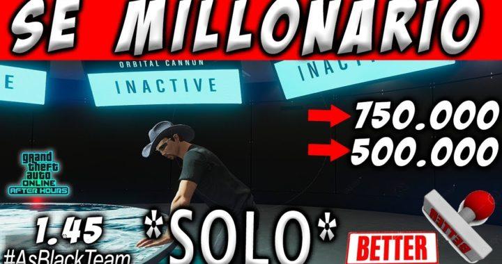   SOLO MONEY GLITCH   - MILLONARIO EN GTA V - SIN AYUDA -   DINERO INFINITO   - EL MEJOR TRUCO