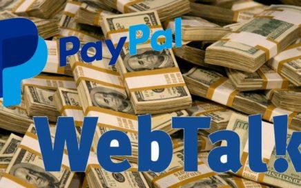 Webtalk - Red Social para ganar dinero- PAGO PAYPAL