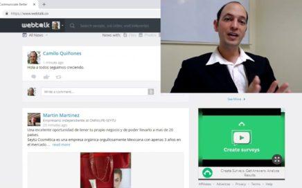 WebTalk - Webtalk Review - La nueva Red Social que te hara ganar dinero