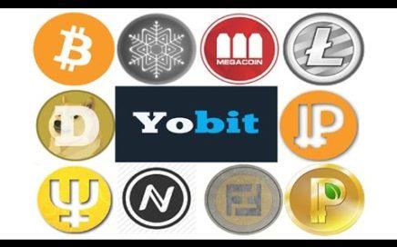 Yobit | # 2 Gana cualquier cryptomoneda gratis !! Gana dinero gratis por internet !!