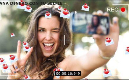 AS: Gana dinero vendiendo tus selfie's