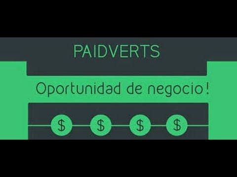 Como ganar Dinero en Internet | Paidverts | 2015