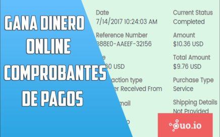 COMPROBANTE DE PAGO 2017| 10 USD |OUO.IO|GANAR DINERO POR INTERNET | #4