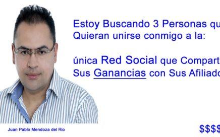 Estoy Buscando 3 Personas para Ganar Dinero con una Red Social