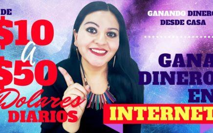 GANA DINERO EN INTERNET DE 10 A 50 DOLARES DIARIOS INVIRTIENDO 2 DOLARES PAYPAL/BITCOIN