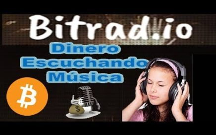 Gana Dinero Escuchando Musica | Bitradio | COMO GANAR DINERO escuchando MÚSICA