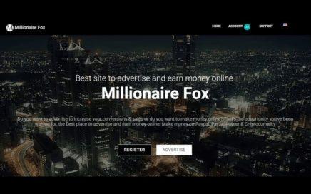 MILLIONAIRE FOX ACTUALIZACIONES IMPORTANTES. NUEVA FORMA DE GANAR DINERO EN INTERNET.